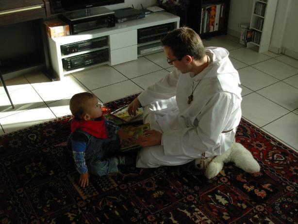 Dario und Frère Andreas