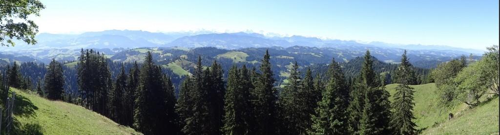 Panoramabild Alpen