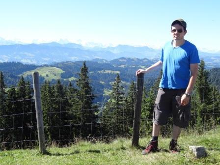 Schöne Berge und ich