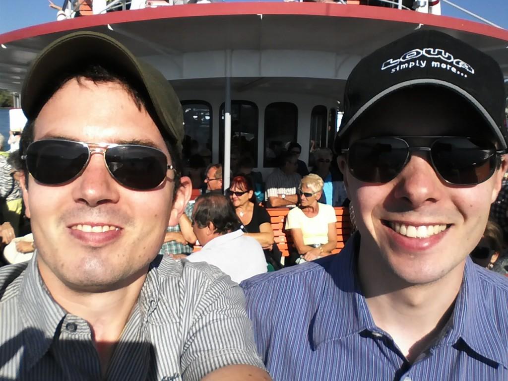 Bruder Andreas und ich