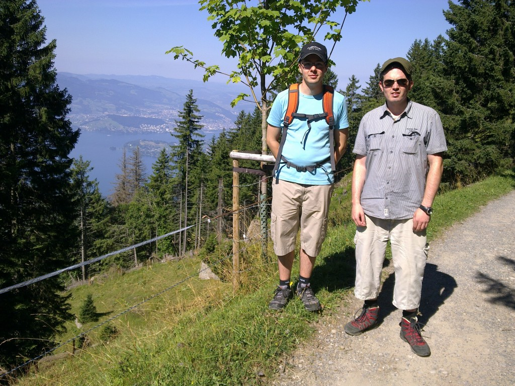 Grosser Bruder Andreas und ich