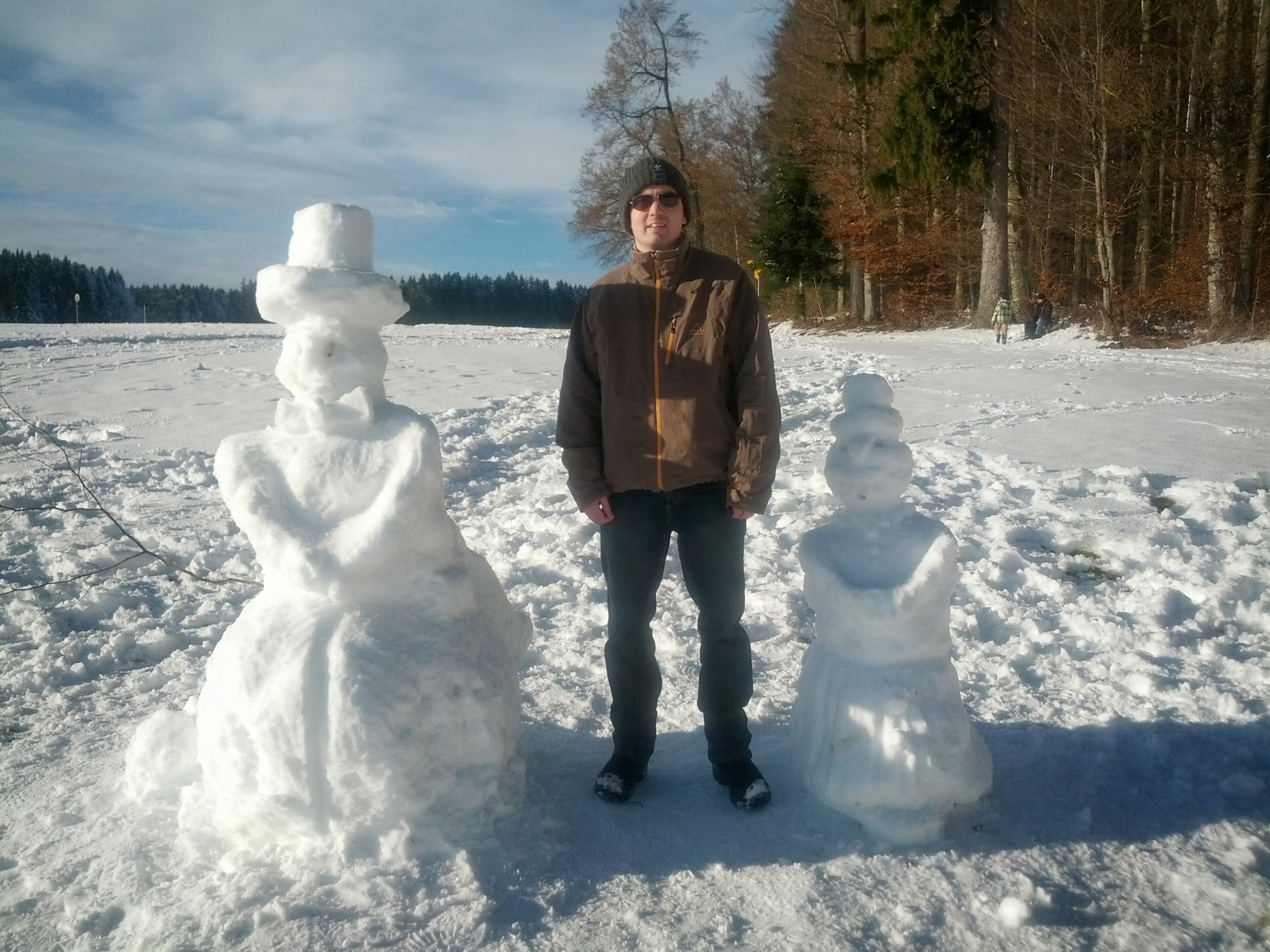 Schneemänner und ich