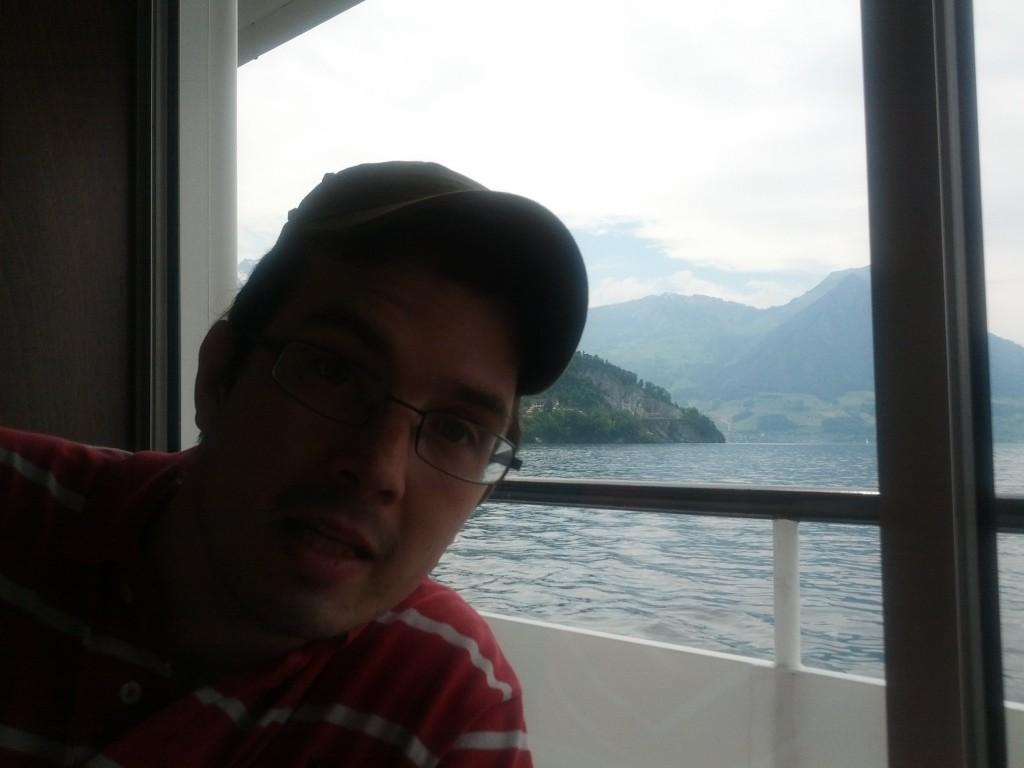Schifffahrt nach Wanderung