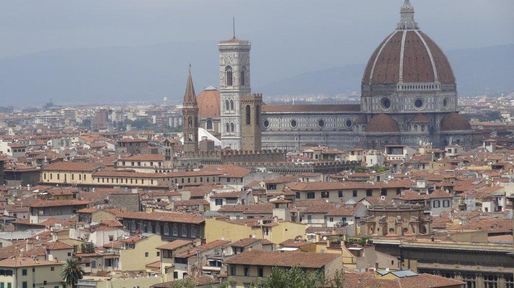 Florenz - Piazza San Michelangelo