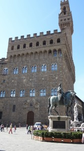 Palazzo Vecchio auf der Piazza delli Signori