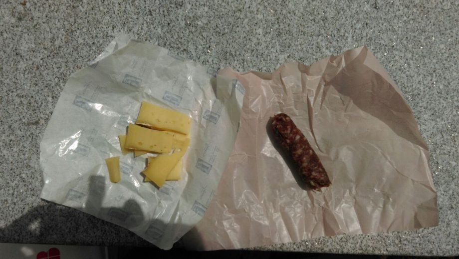 Wurst und Käse