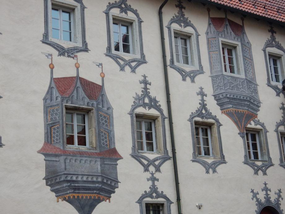 Fassade am hohen Schloss