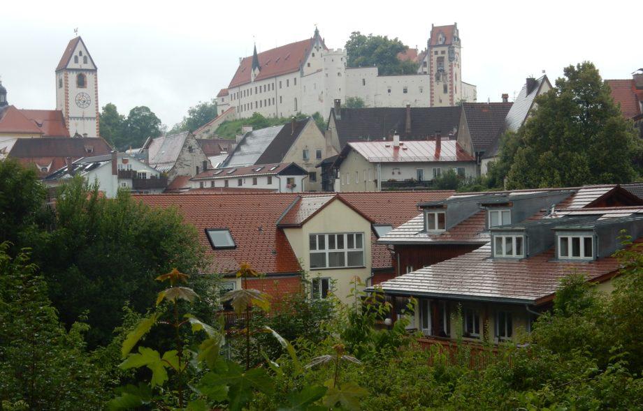 Blick auf das Benediktinerkloster