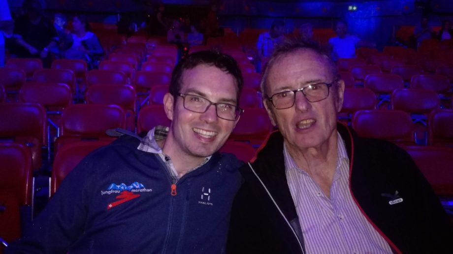 Paa und Mac im Zirkus