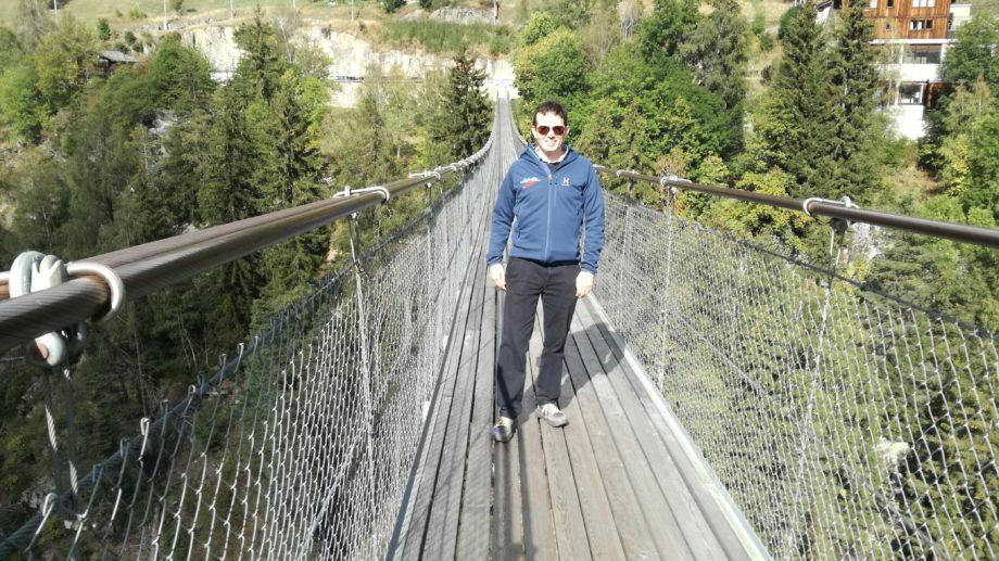 Hohe Brücke im Obergoms