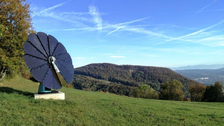 Panorama mit Solarstrom
