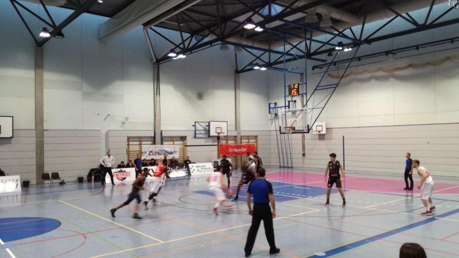 Basketballspiel SCB BCB