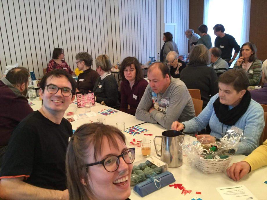 Debi, MME und andere beim Lottospielen