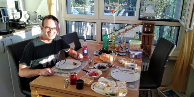 Abendessen bei Seraina und Simon